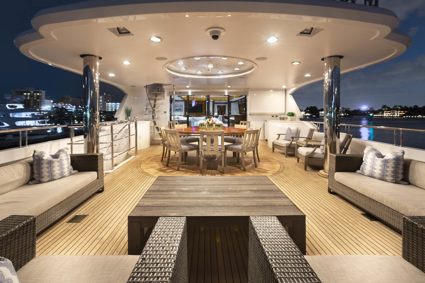 Richmond Yachts-Tri-Deck Motor Yacht 2008-FAR FROM IT St Thomas -Virgin Islands-Virgin Islands (US)-Bridge Deck Aft-1394809 | Thumbnail