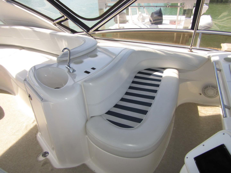 Meridian-391 Sedan 2006 -Treasure Island-Florida-United States-Flybrdige Seating   Forward Portside-1396635   Thumbnail