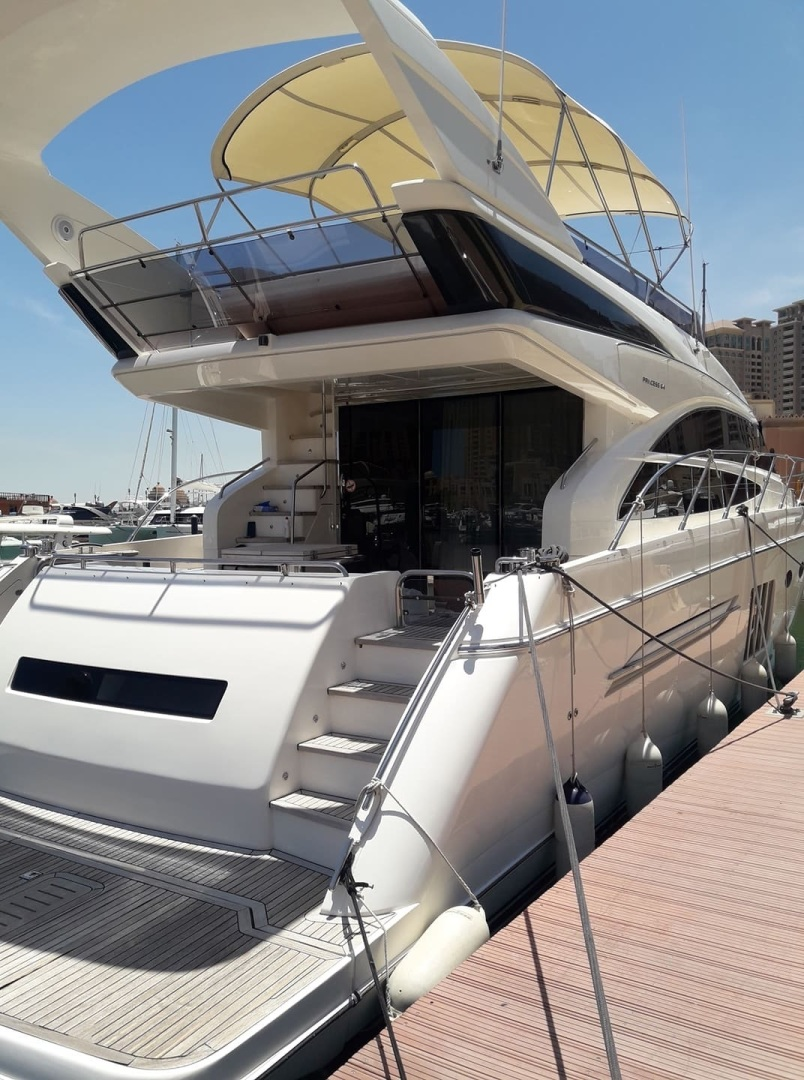 Princess-64 Flybridge Motor Yacht 2012-P64 Doha-Qatar-1396825   Thumbnail
