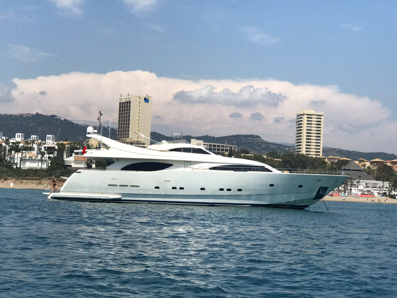 1999 Ferretti Yachts 94' Custom Line 94