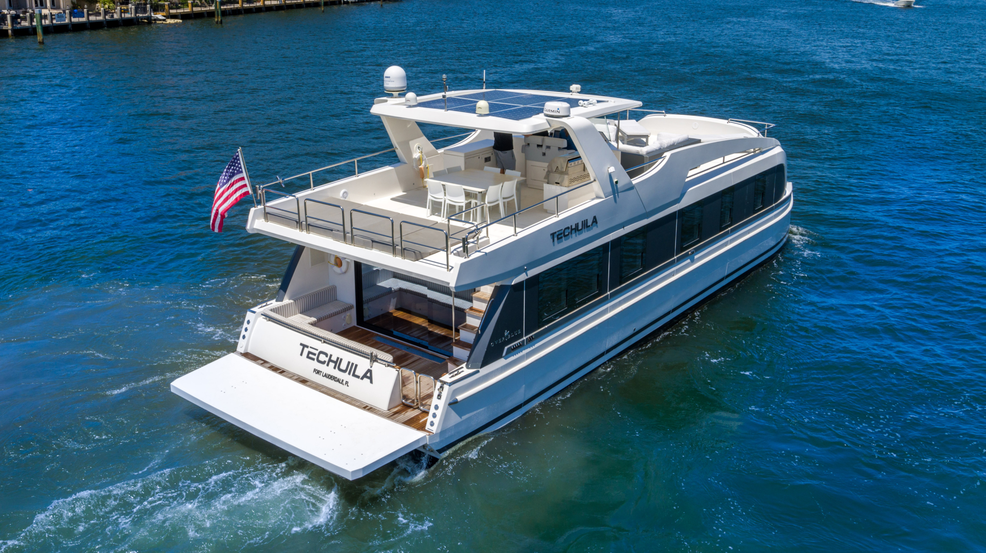 Overblue-58 Power Catamaran 2017-Techuila Ft. Lauderdale-Florida-United States-2017 Overblue 58 Powercat-1401121   Thumbnail
