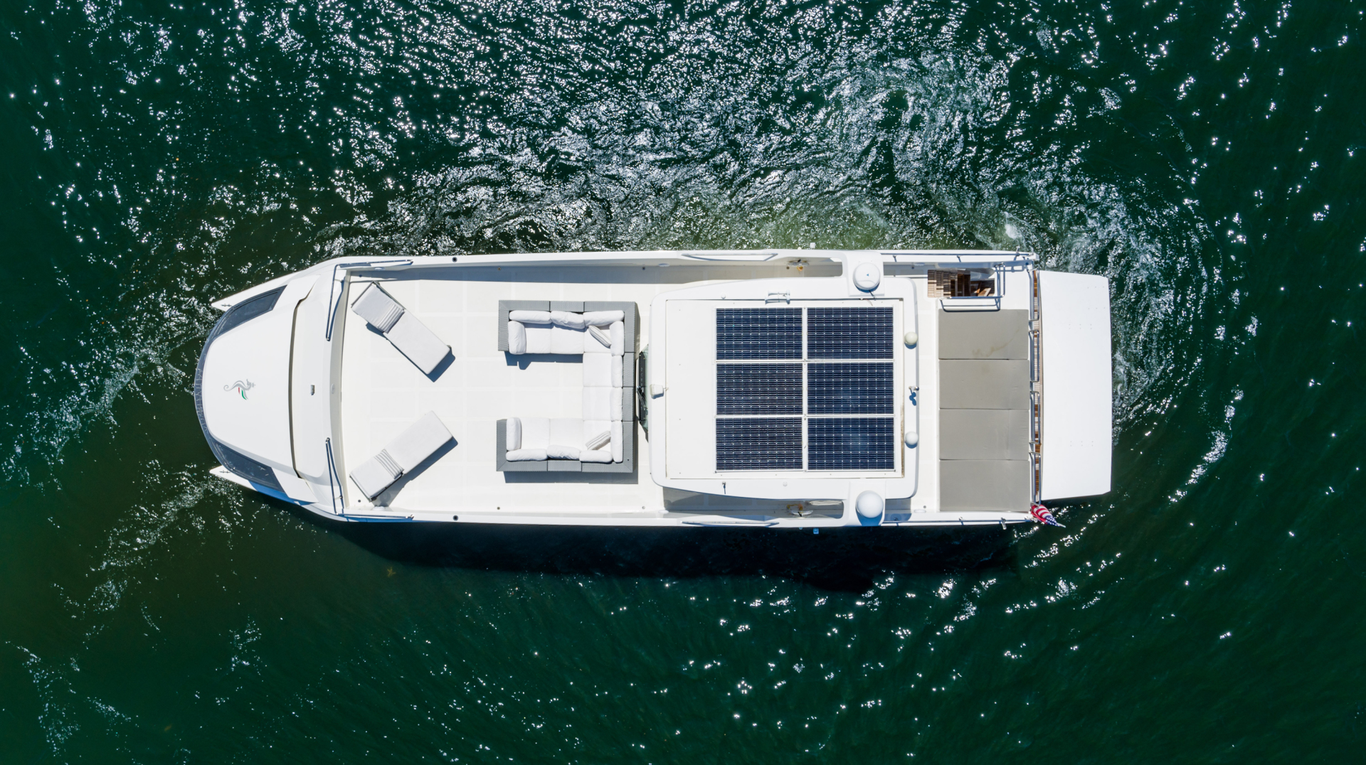Overblue-58 Power Catamaran 2017-Techuila Ft. Lauderdale-Florida-United States-2017 Overblue 58 Powercat Solar Panels-1401115   Thumbnail