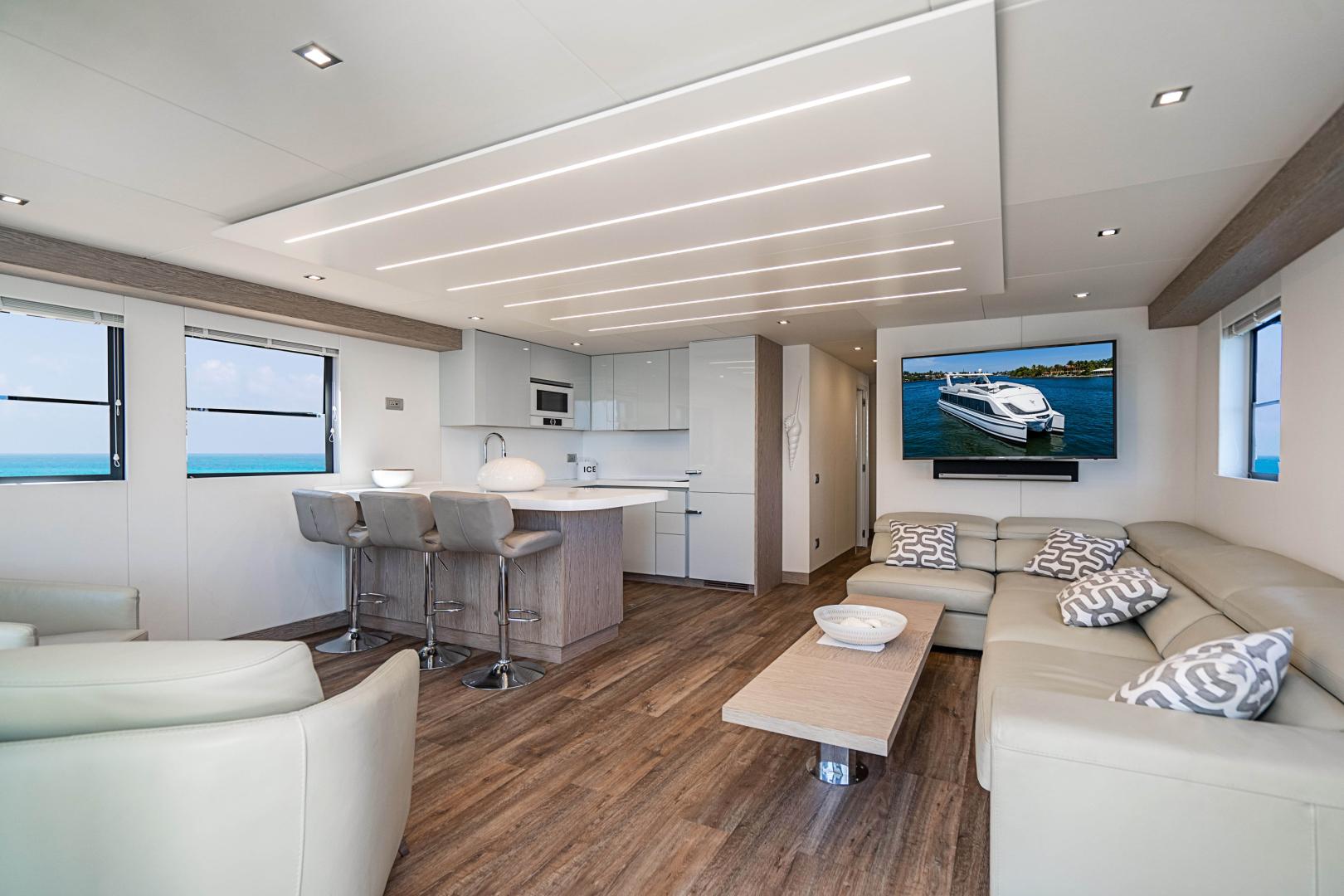 Overblue-58 Power Catamaran 2017-Techuila Ft. Lauderdale-Florida-United States-2017 Overblue 58 Powercat Salon-1401126   Thumbnail