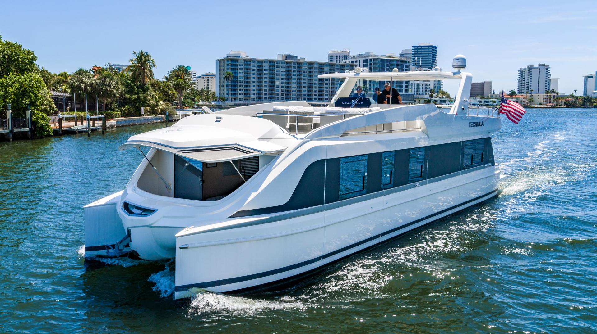 Overblue-58 Power Catamaran 2017-Techuila Ft. Lauderdale-Florida-United States-2017 Overblue 58 Powercat-1401112   Thumbnail