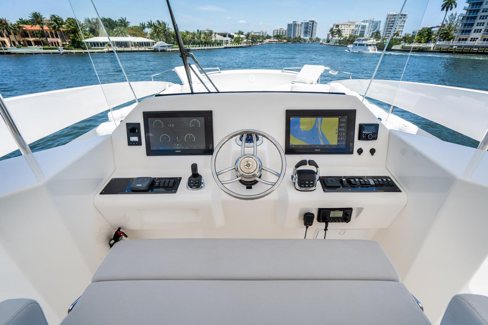 Overblue-58 Power Catamaran 2017-Techuila Ft. Lauderdale-Florida-United States-2017 Overblue 58 Powercat-1401188   Thumbnail