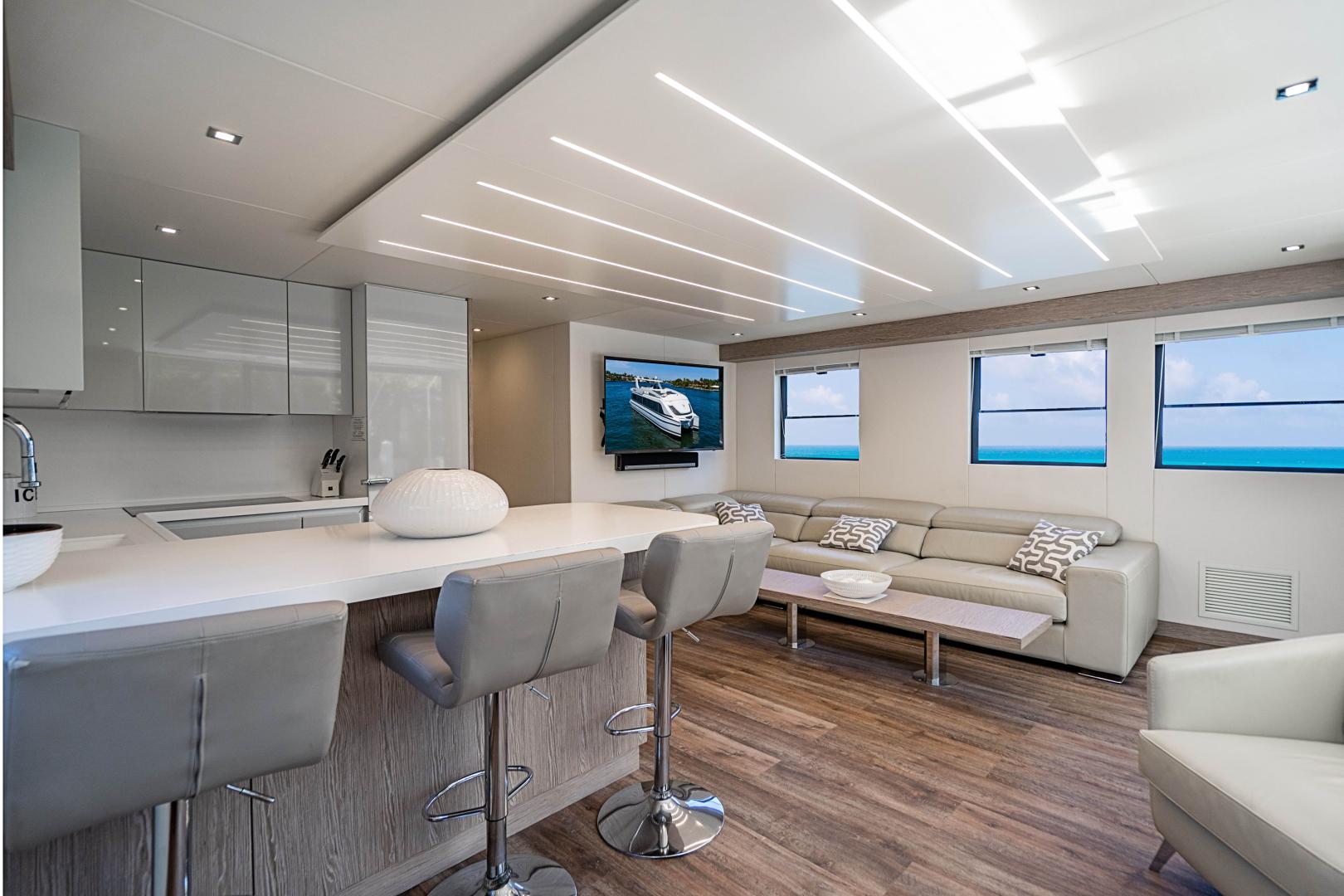 Overblue-58 Power Catamaran 2017-Techuila Ft. Lauderdale-Florida-United States-2017 Overblue 58 Powercat-1401135   Thumbnail