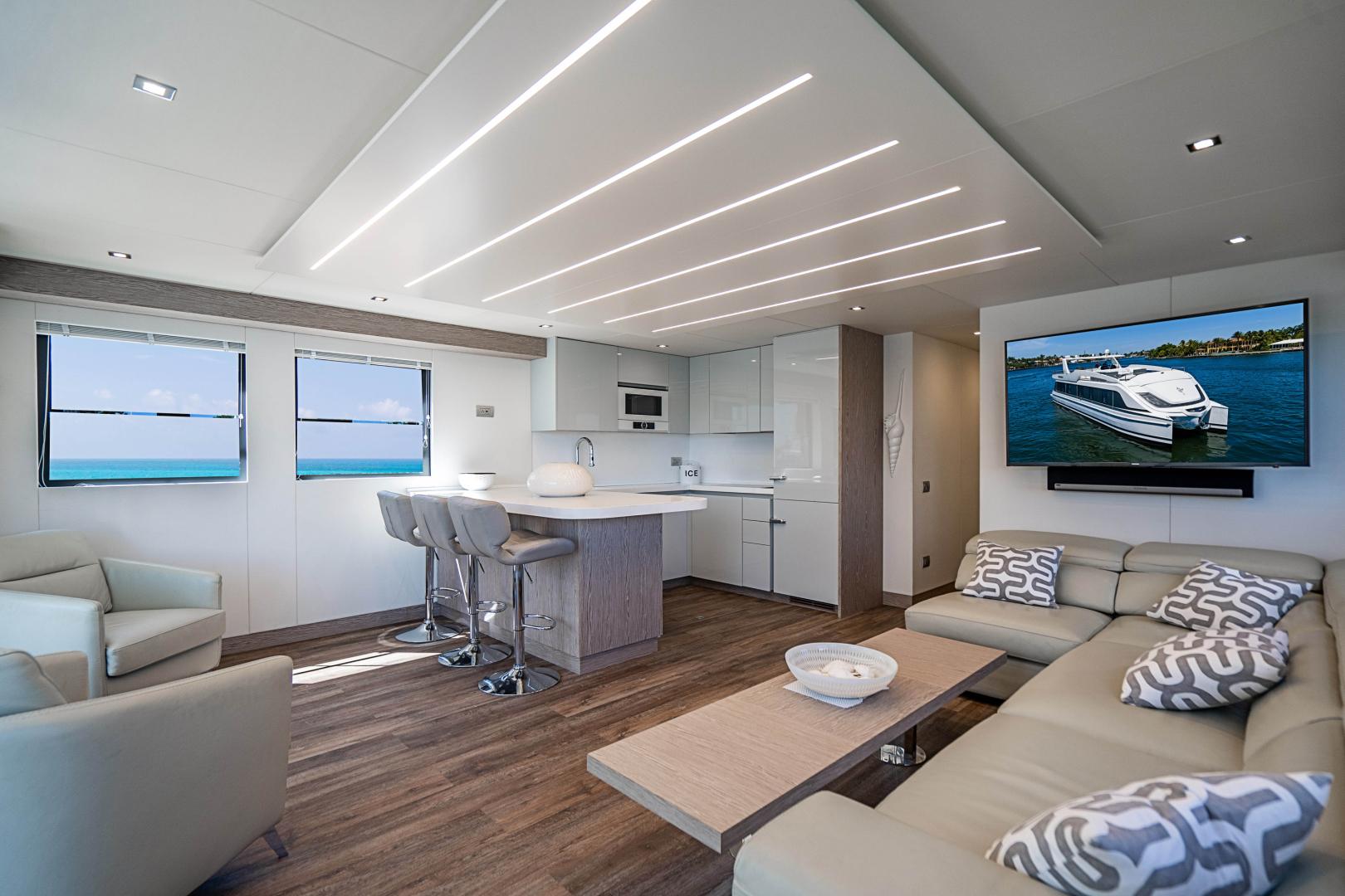 Overblue-58 Power Catamaran 2017-Techuila Ft. Lauderdale-Florida-United States-2017 Overblue 58 Powercat-1401128   Thumbnail