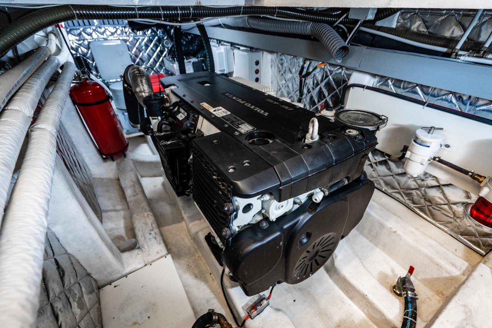 Overblue-58 Power Catamaran 2017-Techuila Ft. Lauderdale-Florida-United States-2017 Overblue 58 Powercat Engine Room-1401273   Thumbnail