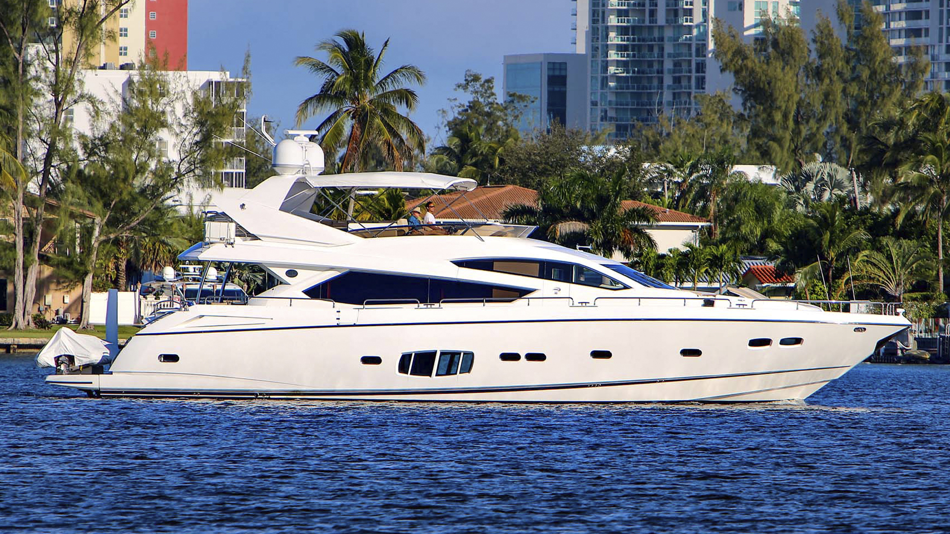 80' Sunseeker 2011 80 Yacht Morningstar