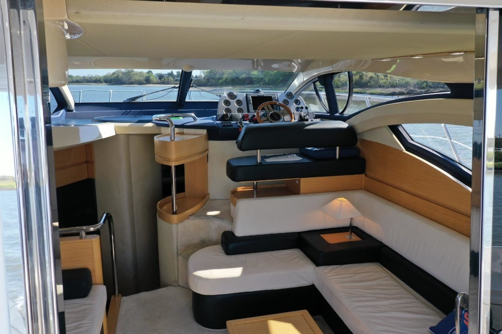Azimut-43 Flybridge 2007-Wired Up Cape May-New Jersey-United States-alon, Lower Helm-1402873 | Thumbnail