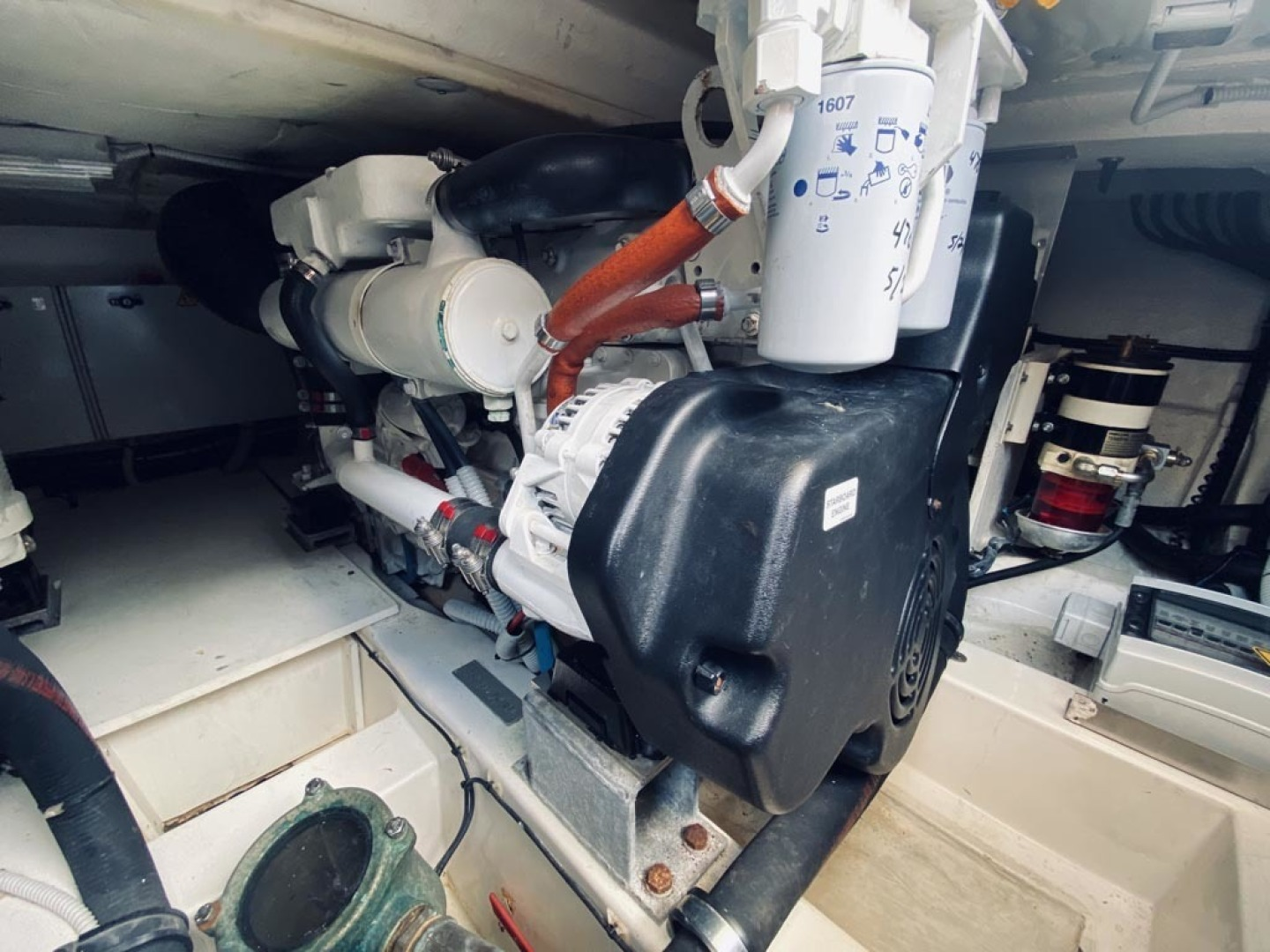 Azimut-43 Flybridge 2007-Wired Up Cape May-New Jersey-United States-Engine Room_3-1402889 | Thumbnail