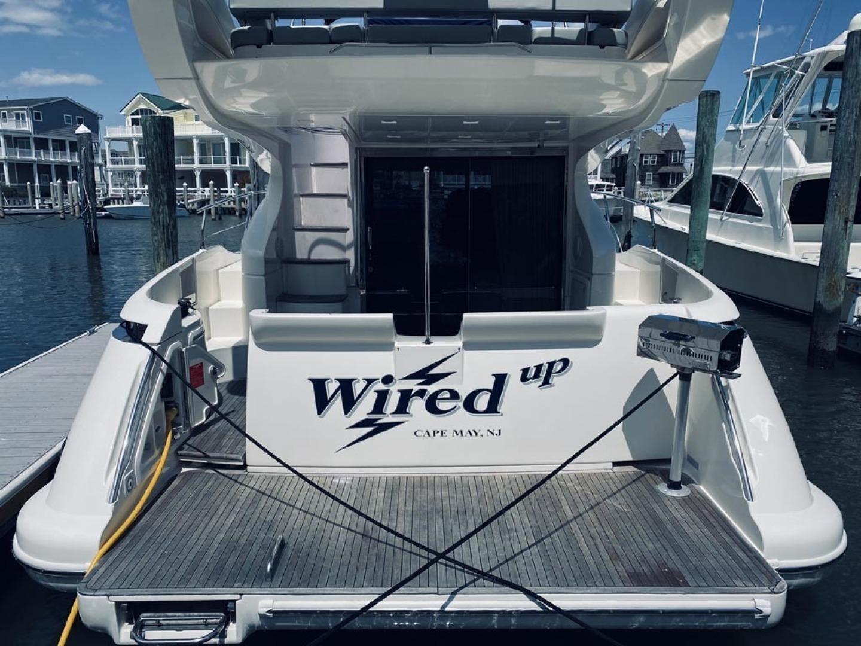 Azimut-43 Flybridge 2007-Wired Up Cape May-New Jersey-United States-Stern, Swim Platform-1402892 | Thumbnail