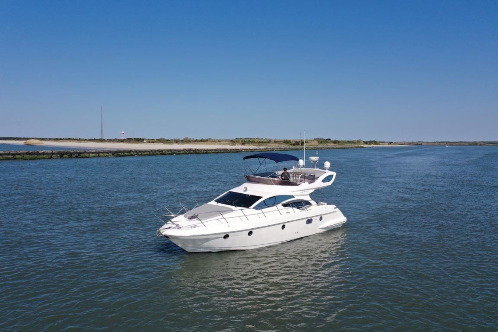 Azimut-43 Flybridge 2007-Wired Up Cape May-New Jersey-United States-Port Bow View-1402893 | Thumbnail