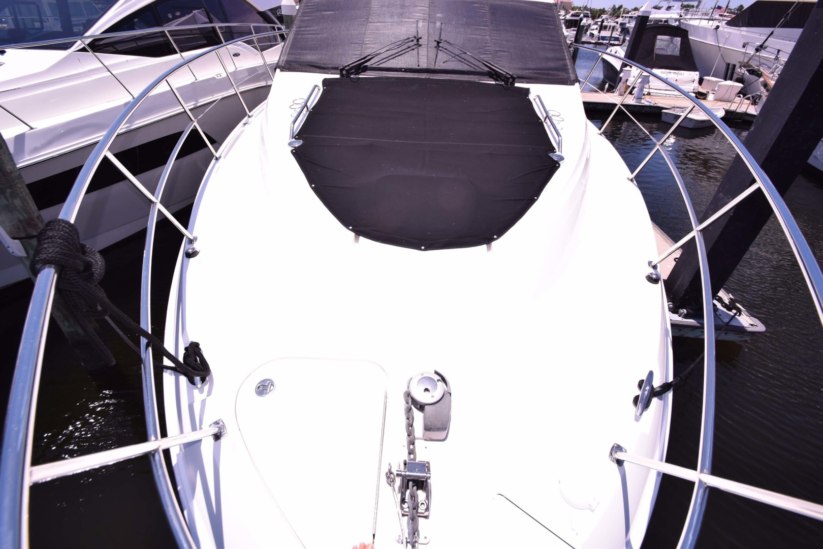 Sea Ray-460 Sundancer 2017-Susanne Marie 4 Fort Myers-Florida-United States-Foredeck View From Pulpit-1403756 | Thumbnail