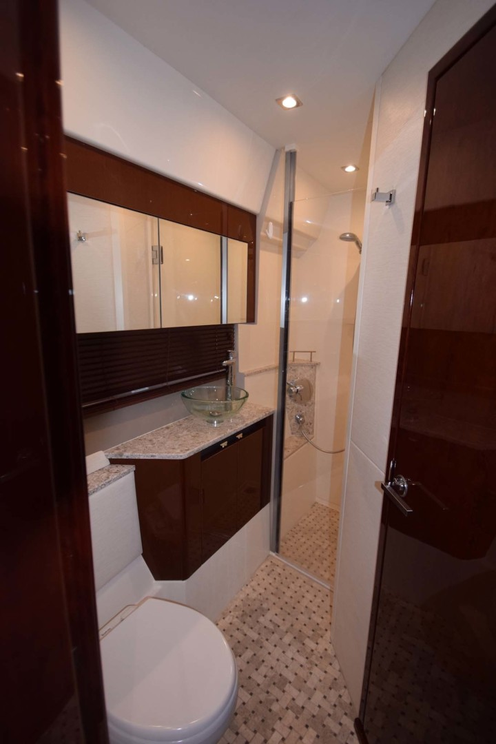 Sea Ray-460 Sundancer 2017-Susanne Marie 4 Fort Myers-Florida-United States-VIP En-Suite Head And Shower Stall-1403753 | Thumbnail