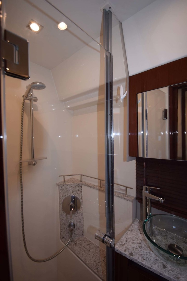 Sea Ray-460 Sundancer 2017-Susanne Marie 4 Fort Myers-Florida-United States-Master Head And Shower-1403751 | Thumbnail
