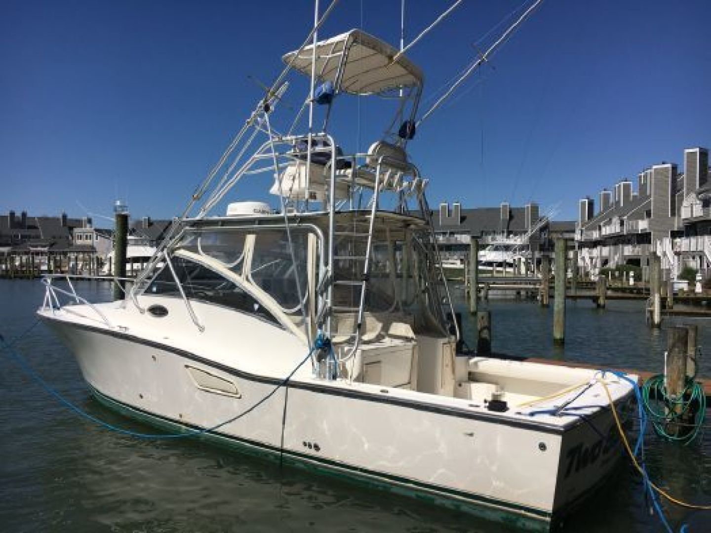 Two Sons is a Albemarle 32 Express Yacht For Sale in Ocean City--0