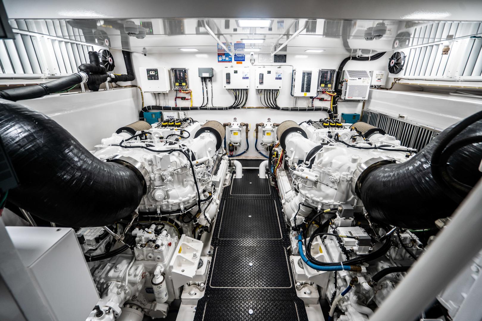 Viking-Motor Yacht 2018-LULU North Palm Beach-Florida-United States-Engine Room-1405940 | Thumbnail