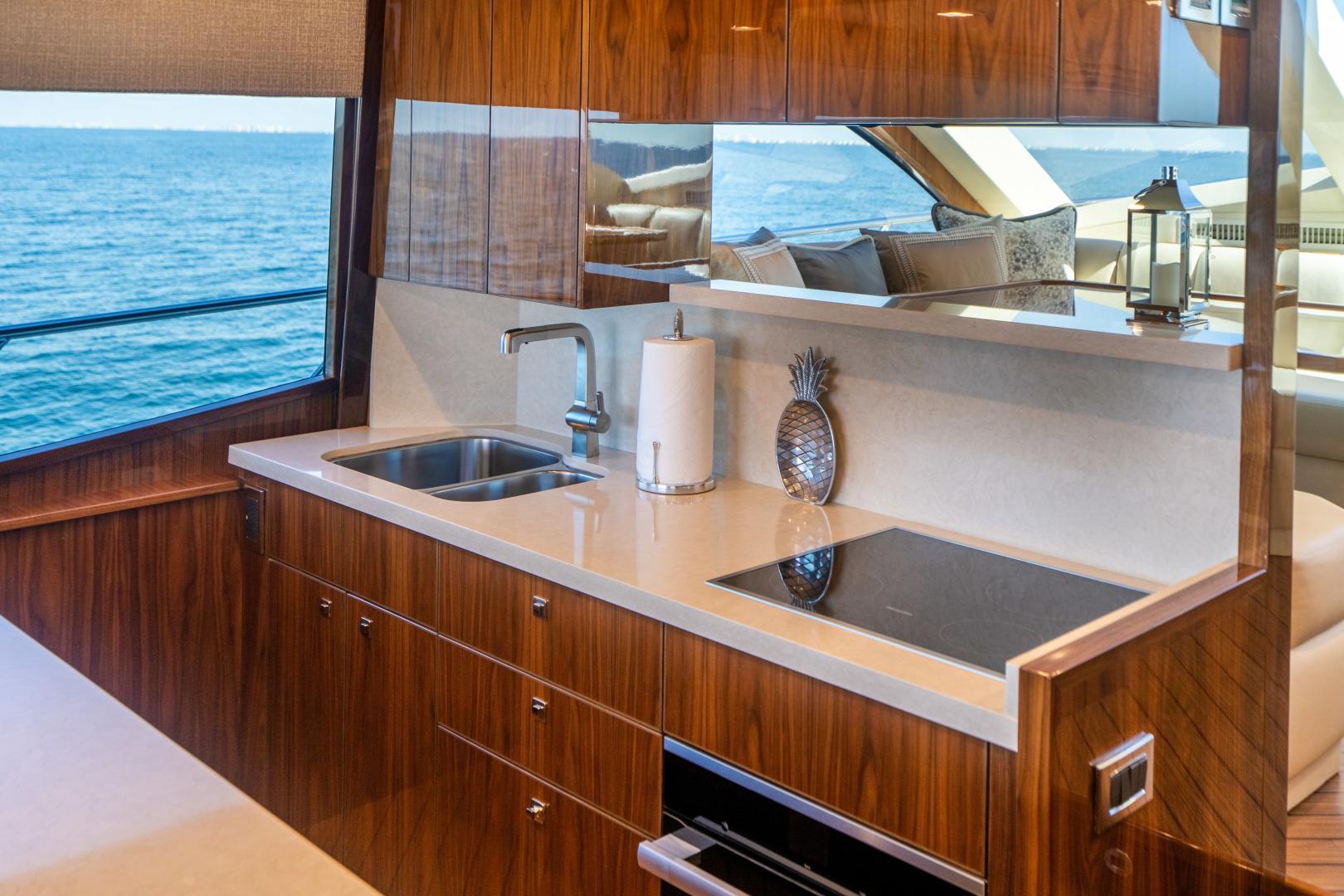 Viking-Motor Yacht 2018-LULU North Palm Beach-Florida-United States-Galley-1405700 | Thumbnail