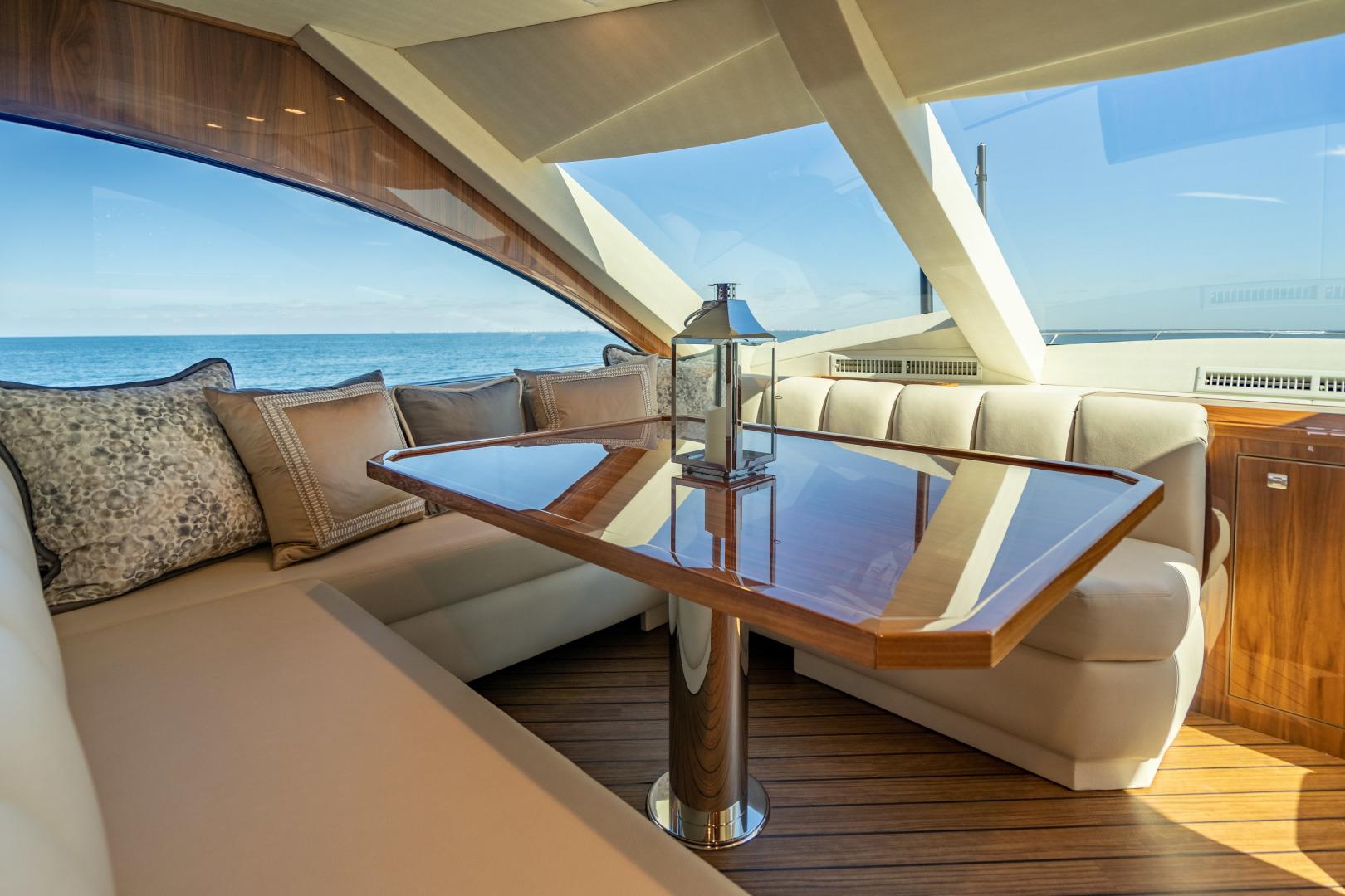 Viking-Motor Yacht 2018-LULU North Palm Beach-Florida-United States-Dinette-1405694 | Thumbnail