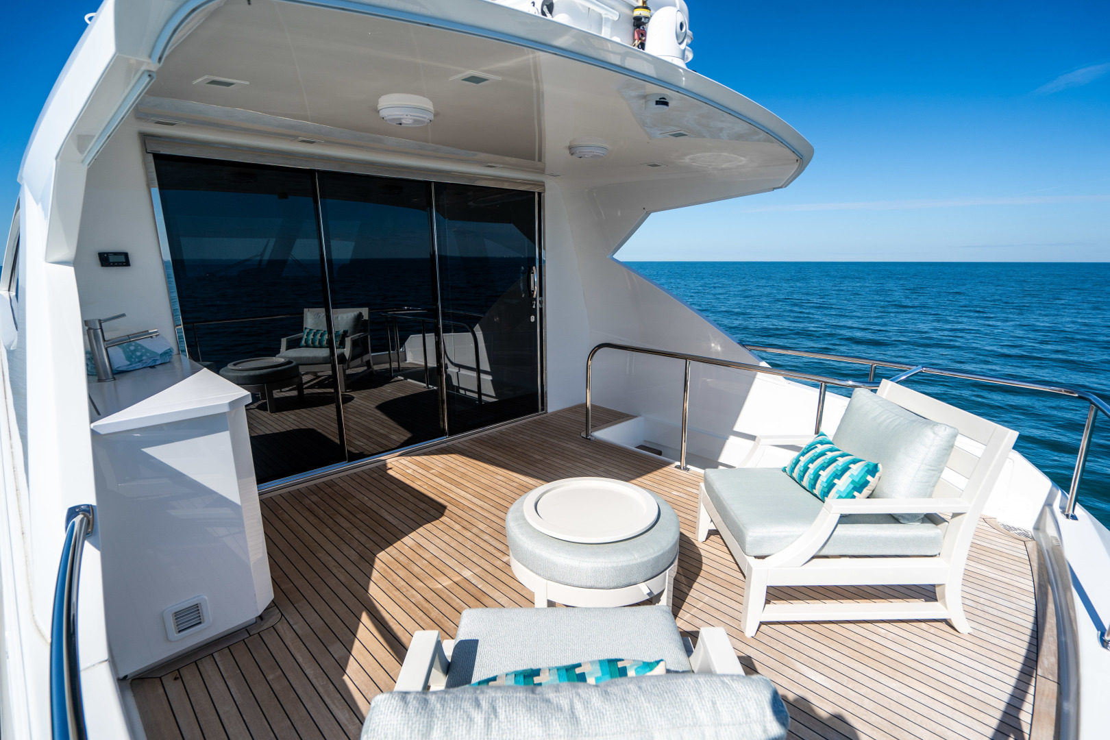 Viking-Motor Yacht 2018-LULU North Palm Beach-Florida-United States-Upper Aft Deck-1405983 | Thumbnail