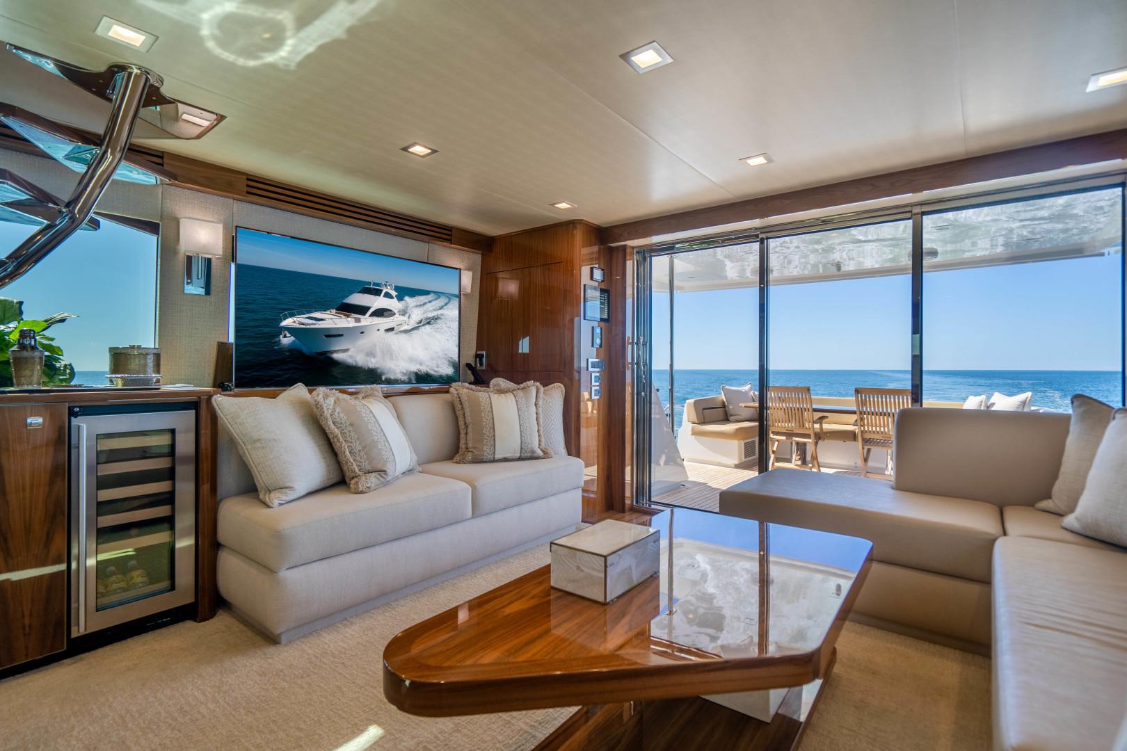 Viking-Motor Yacht 2018-LULU North Palm Beach-Florida-United States-Salon-1405686 | Thumbnail