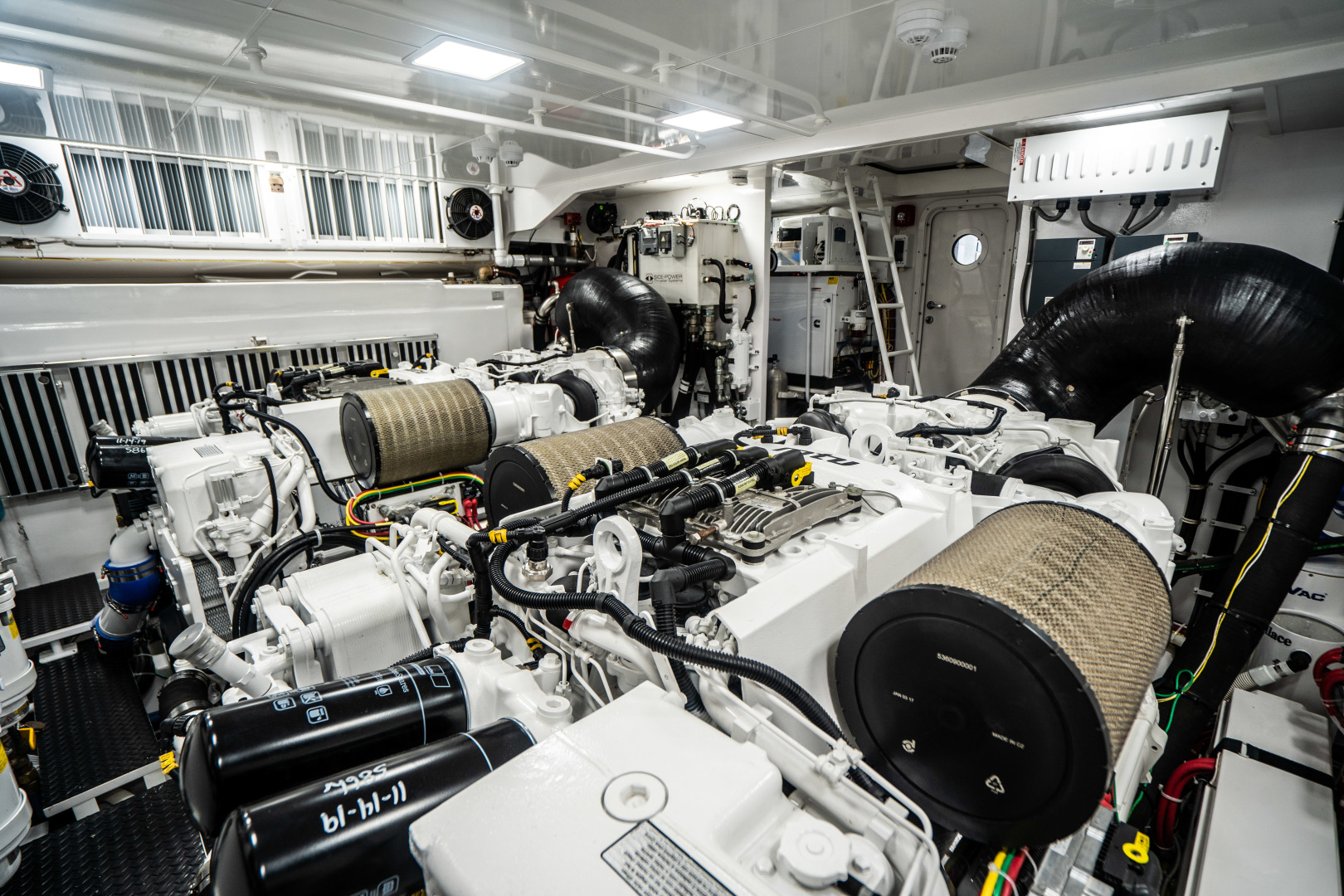 Viking-Motor Yacht 2018-LULU North Palm Beach-Florida-United States-Engine Room-1405942 | Thumbnail