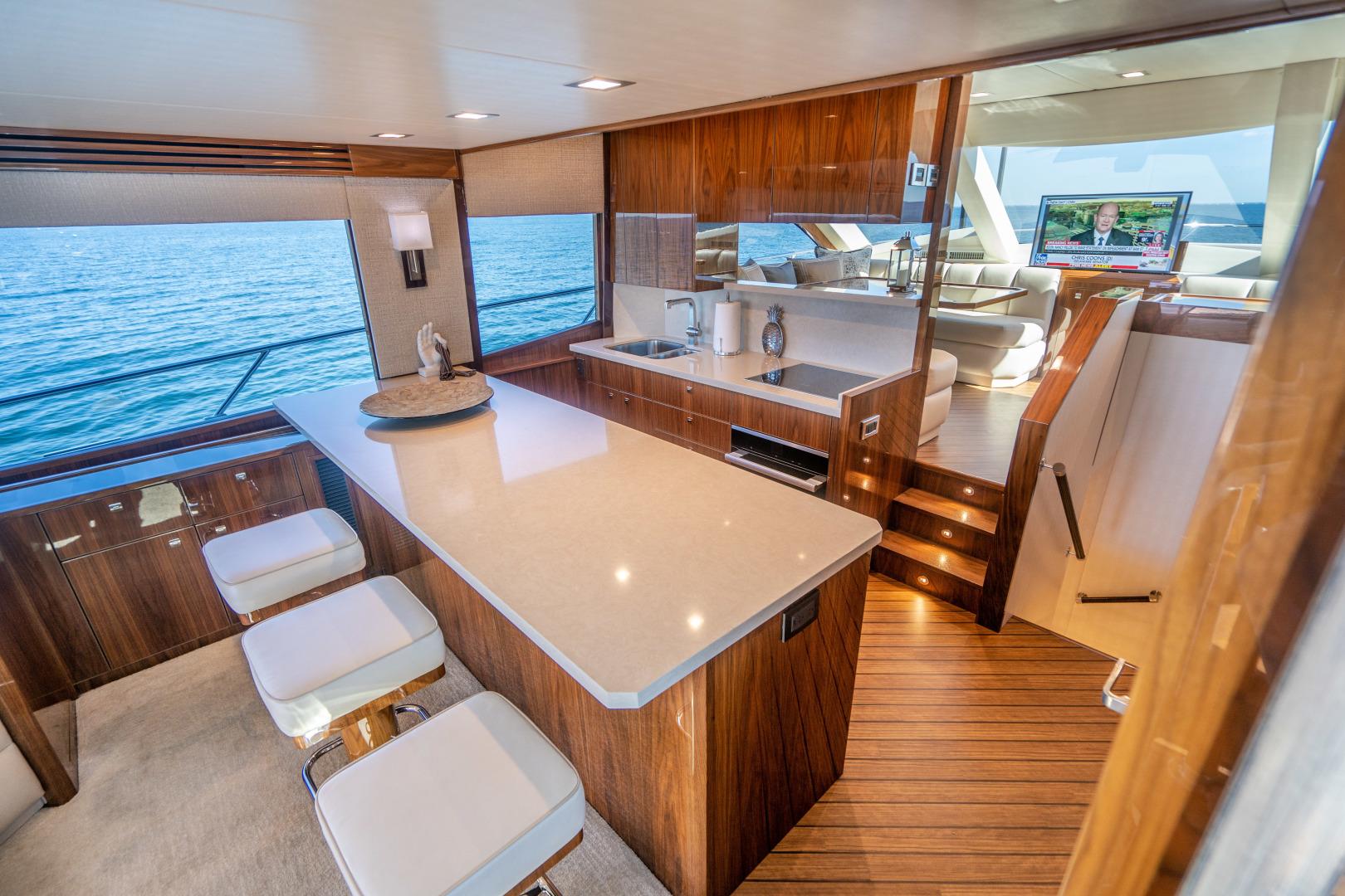 Viking-Motor Yacht 2018-LULU North Palm Beach-Florida-United States-Galley-1405702 | Thumbnail