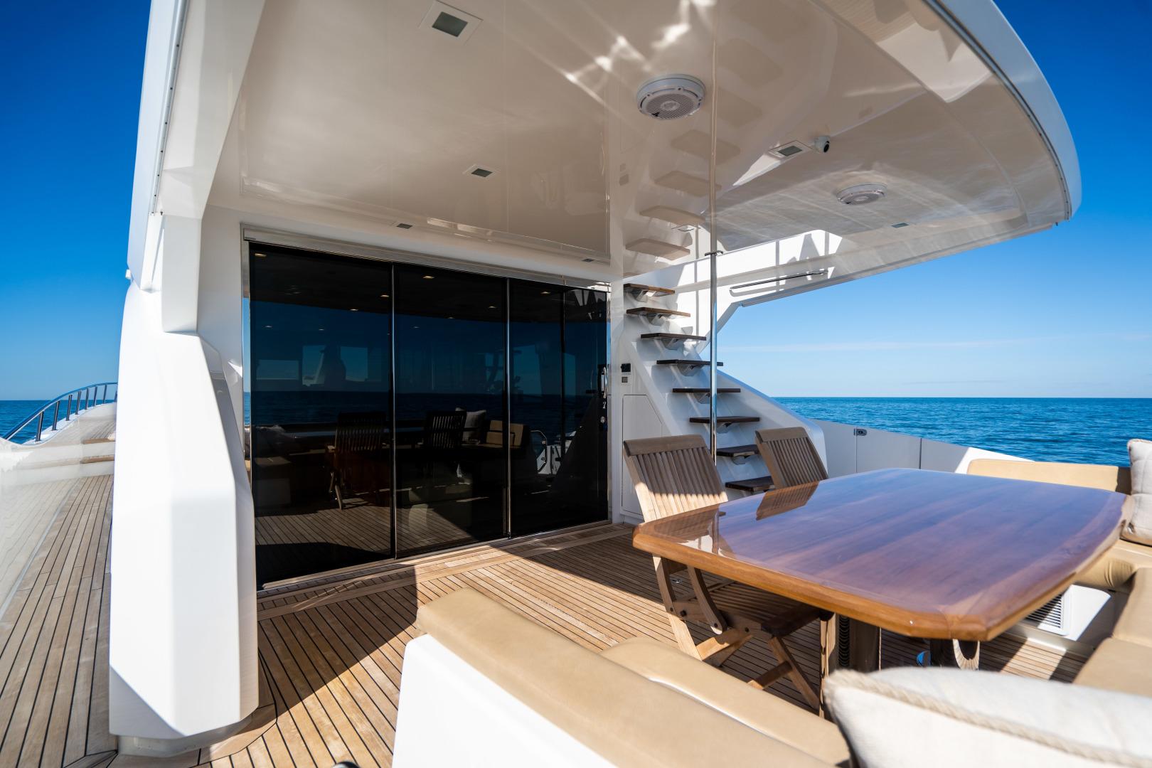 Viking-Motor Yacht 2018-LULU North Palm Beach-Florida-United States-Aft Deck-1405889 | Thumbnail