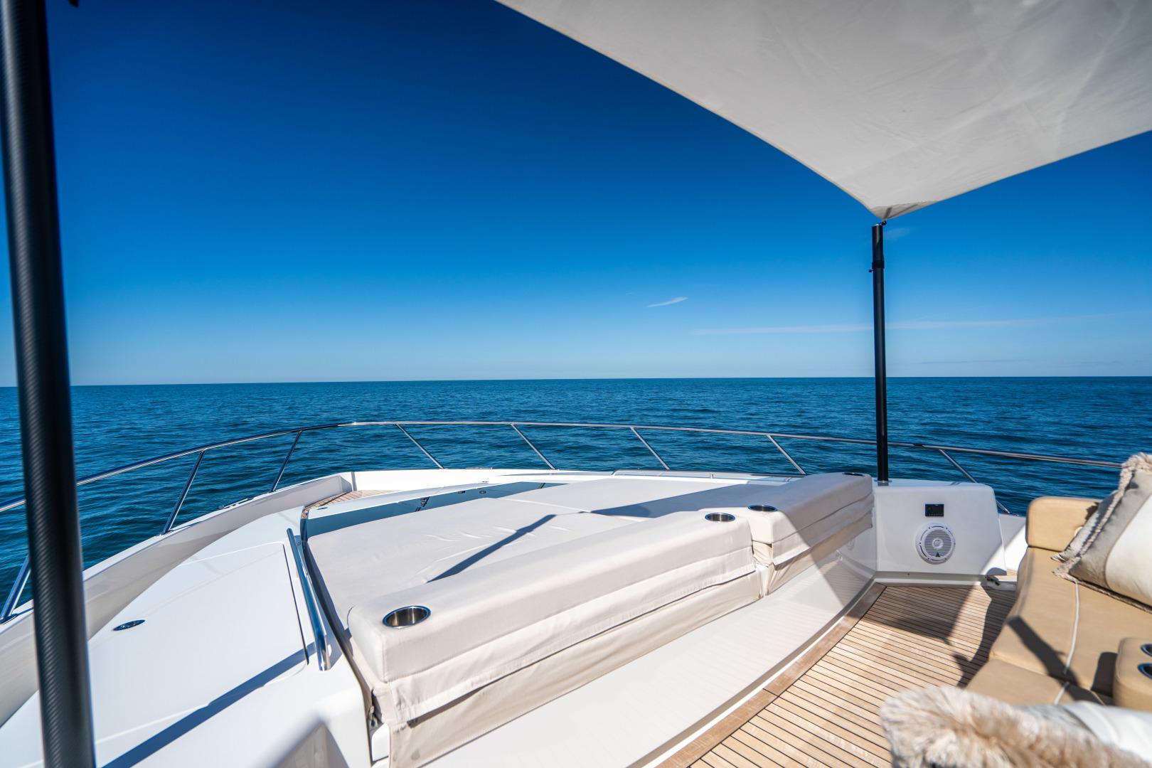 Viking-Motor Yacht 2018-LULU North Palm Beach-Florida-United States-Fore Deck Sunpad-1405894 | Thumbnail