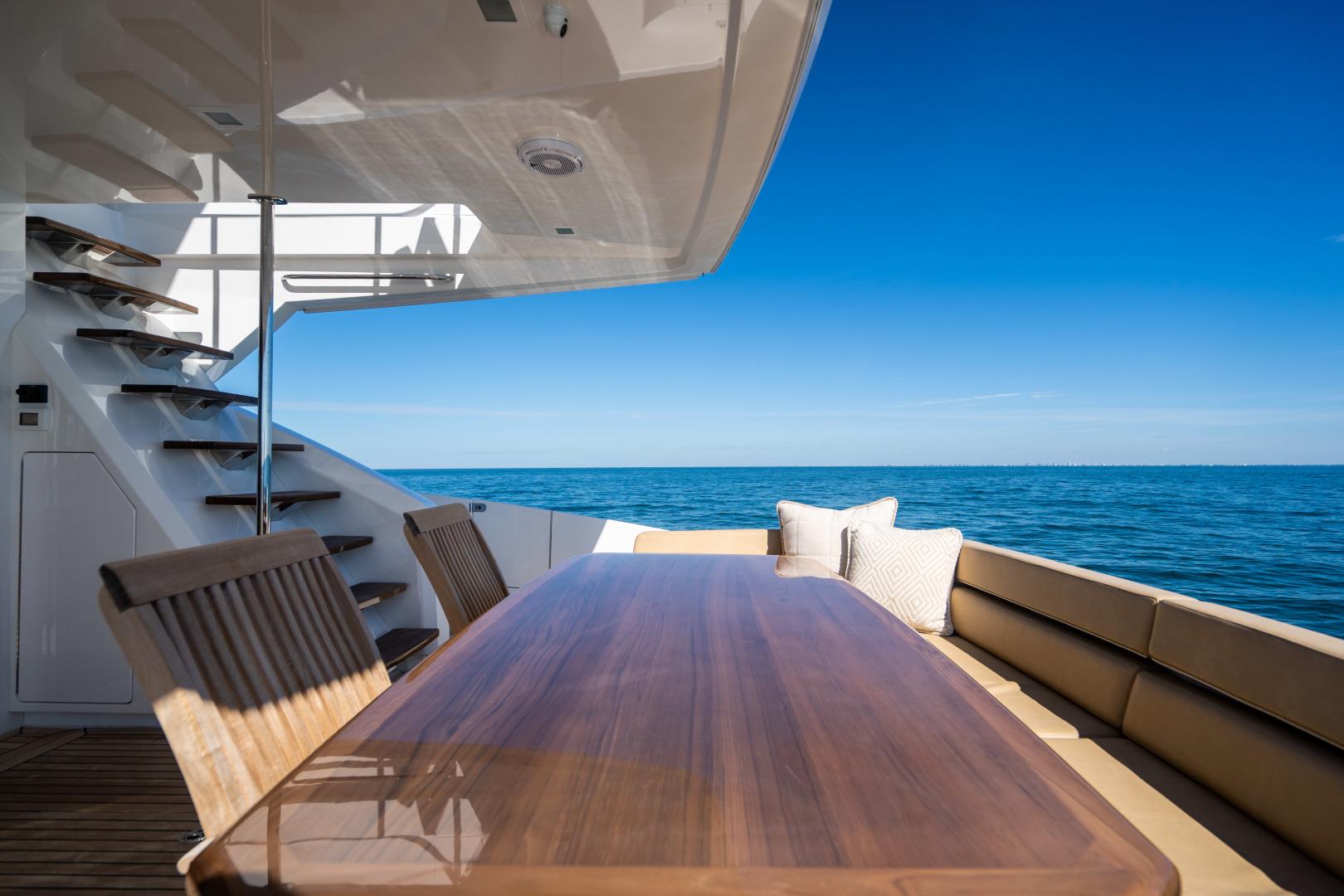 Viking-Motor Yacht 2018-LULU North Palm Beach-Florida-United States-Aft Deck-1405890 | Thumbnail