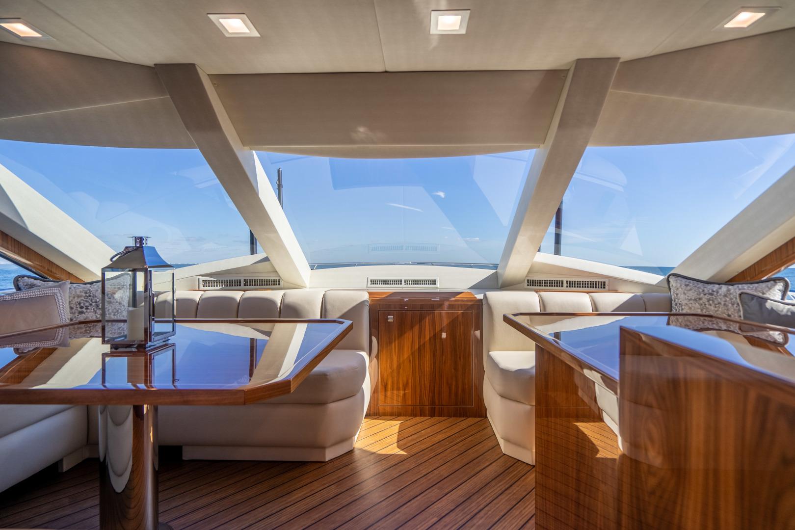 Viking-Motor Yacht 2018-LULU North Palm Beach-Florida-United States-Dinette-1405696 | Thumbnail