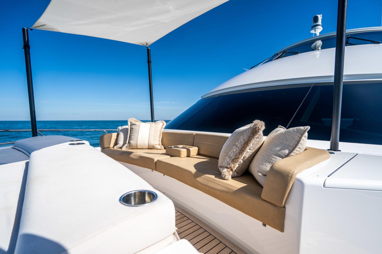 Viking-Motor Yacht 2018-LULU North Palm Beach-Florida-United States-Fore Deck Lounge-1405896 | Thumbnail