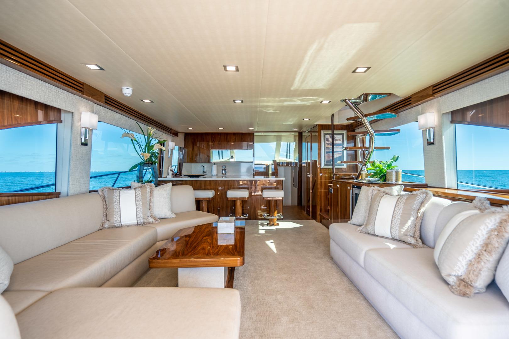 Viking-Motor Yacht 2018-LULU North Palm Beach-Florida-United States-Salon-1405691 | Thumbnail