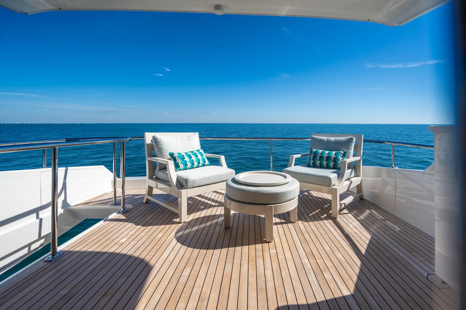 Viking-Motor Yacht 2018-LULU North Palm Beach-Florida-United States-Upper Aft Deck-1405977 | Thumbnail