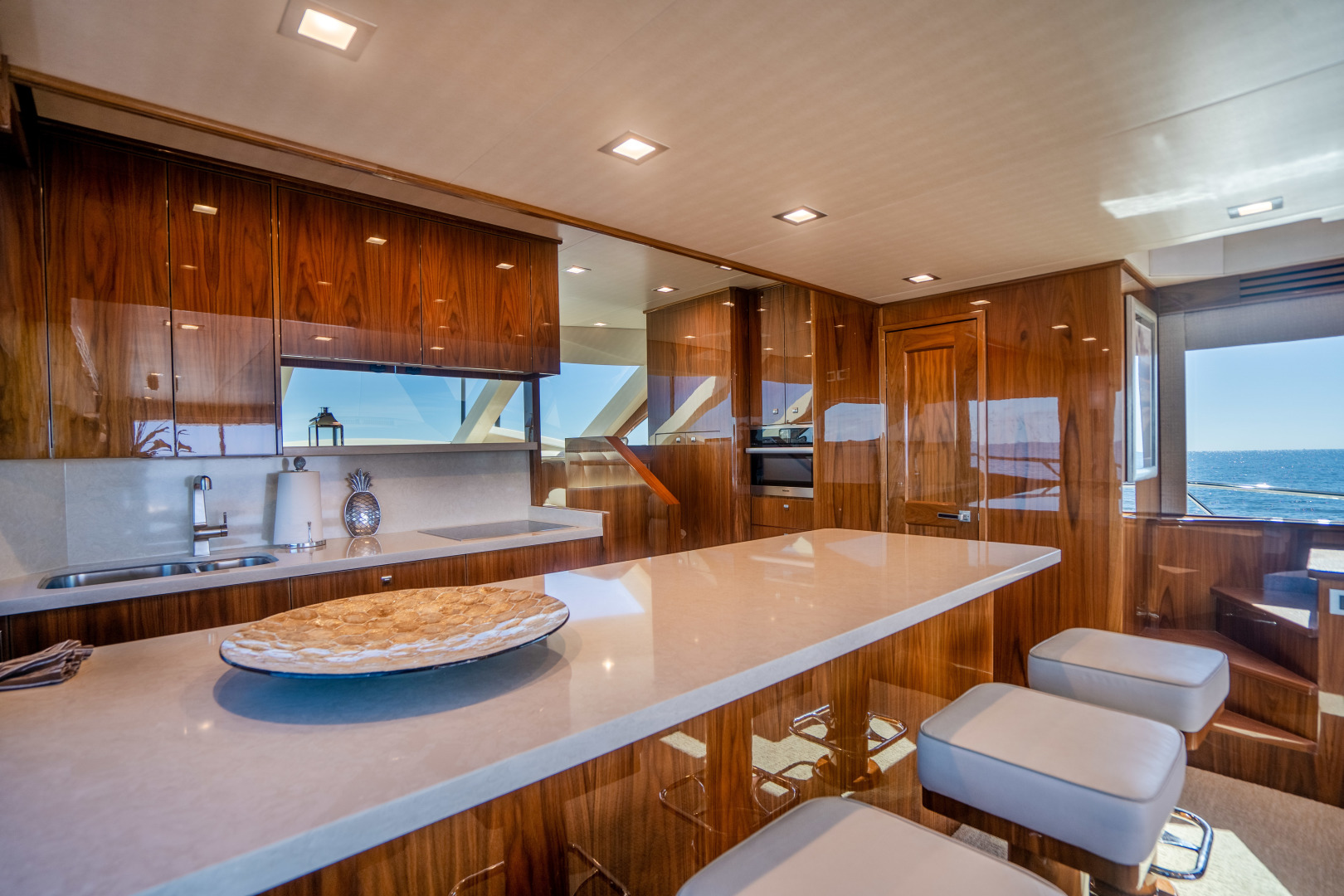 Viking-Motor Yacht 2018-LULU North Palm Beach-Florida-United States-Galley-1405699 | Thumbnail