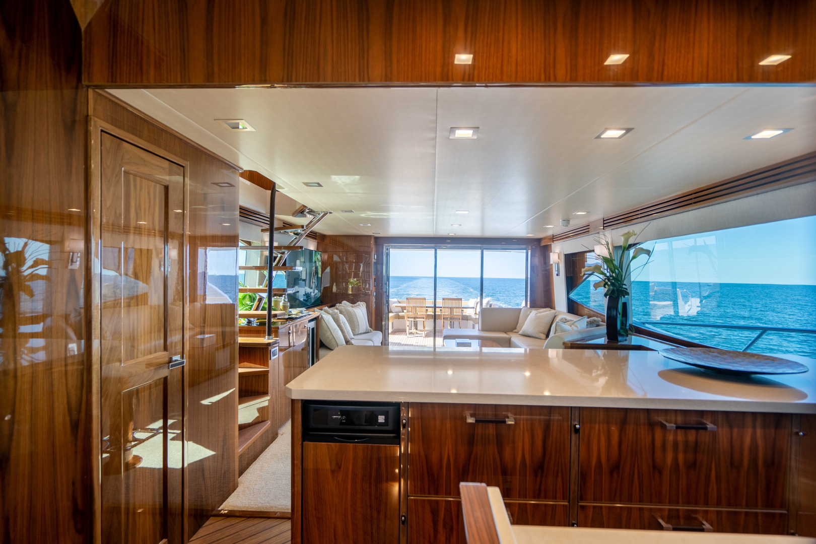 Viking-Motor Yacht 2018-LULU North Palm Beach-Florida-United States-Galley-1405704 | Thumbnail