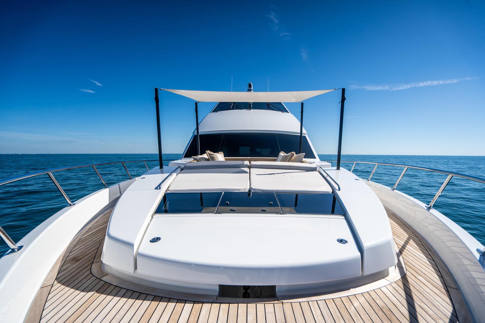 Viking-Motor Yacht 2018-LULU North Palm Beach-Florida-United States-Fore Deck-1405898 | Thumbnail