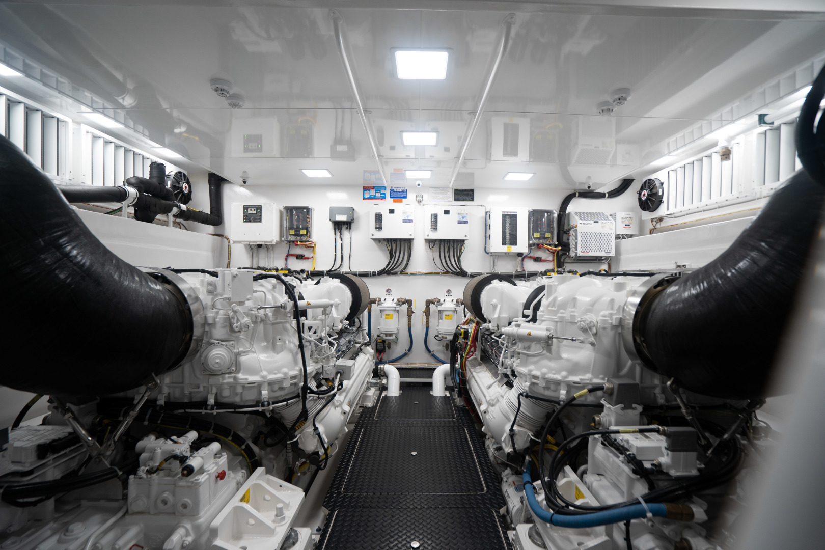 Viking-Motor Yacht 2018-LULU North Palm Beach-Florida-United States-Engine Room-1405939 | Thumbnail