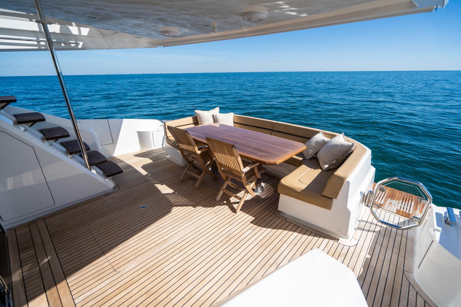 Viking-Motor Yacht 2018-LULU North Palm Beach-Florida-United States-Aft Deck-1405888 | Thumbnail