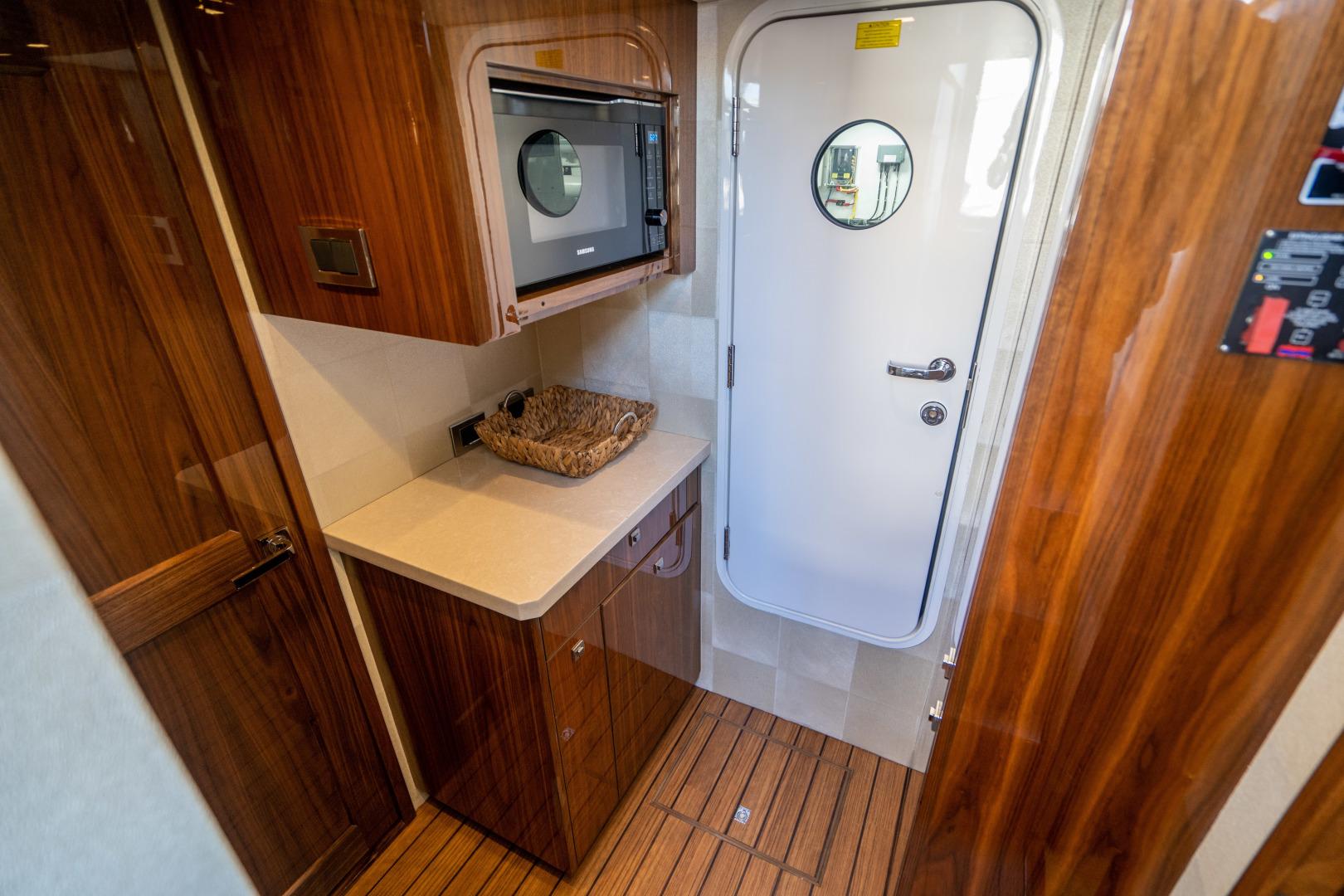 Viking-Motor Yacht 2018-LULU North Palm Beach-Florida-United States-Crew Pantry-1405844 | Thumbnail