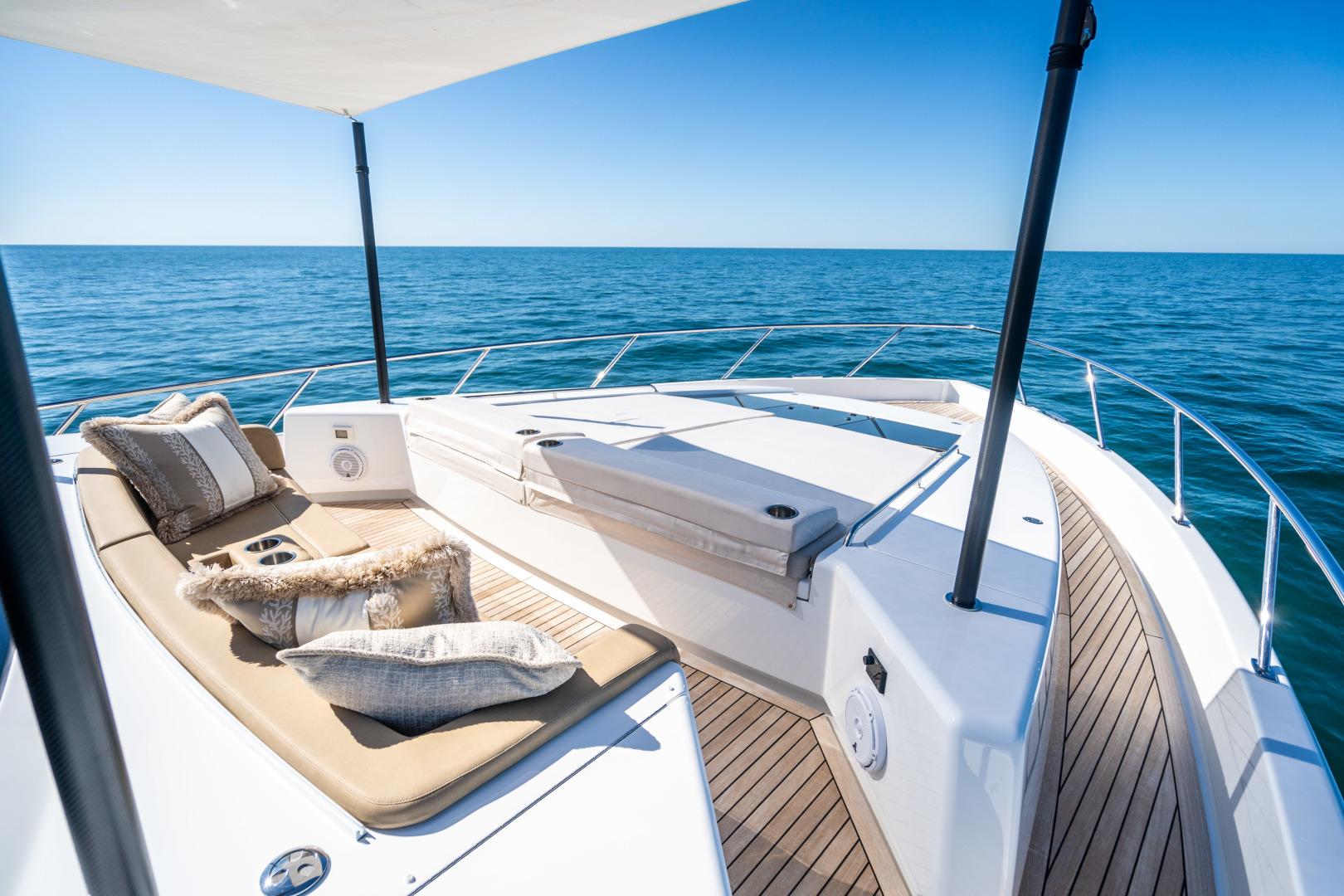 Viking-Motor Yacht 2018-LULU North Palm Beach-Florida-United States-Fore Deck-1405895 | Thumbnail