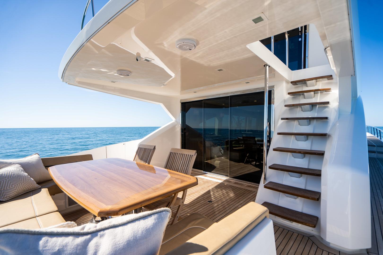 Viking-Motor Yacht 2018-LULU North Palm Beach-Florida-United States-Aft Deck-1405892 | Thumbnail