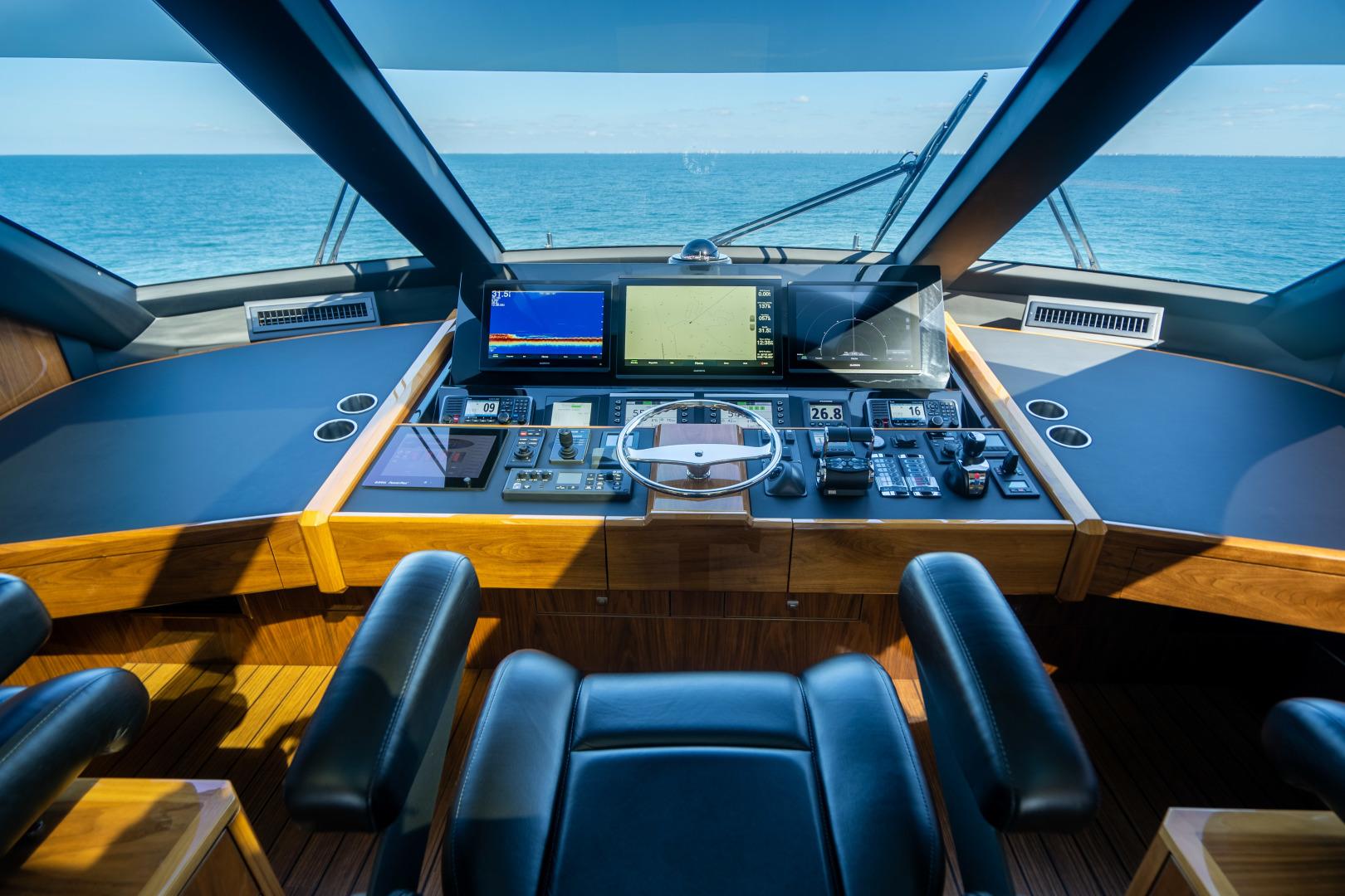 Viking-Motor Yacht 2018-LULU North Palm Beach-Florida-United States-Helm-1405903 | Thumbnail