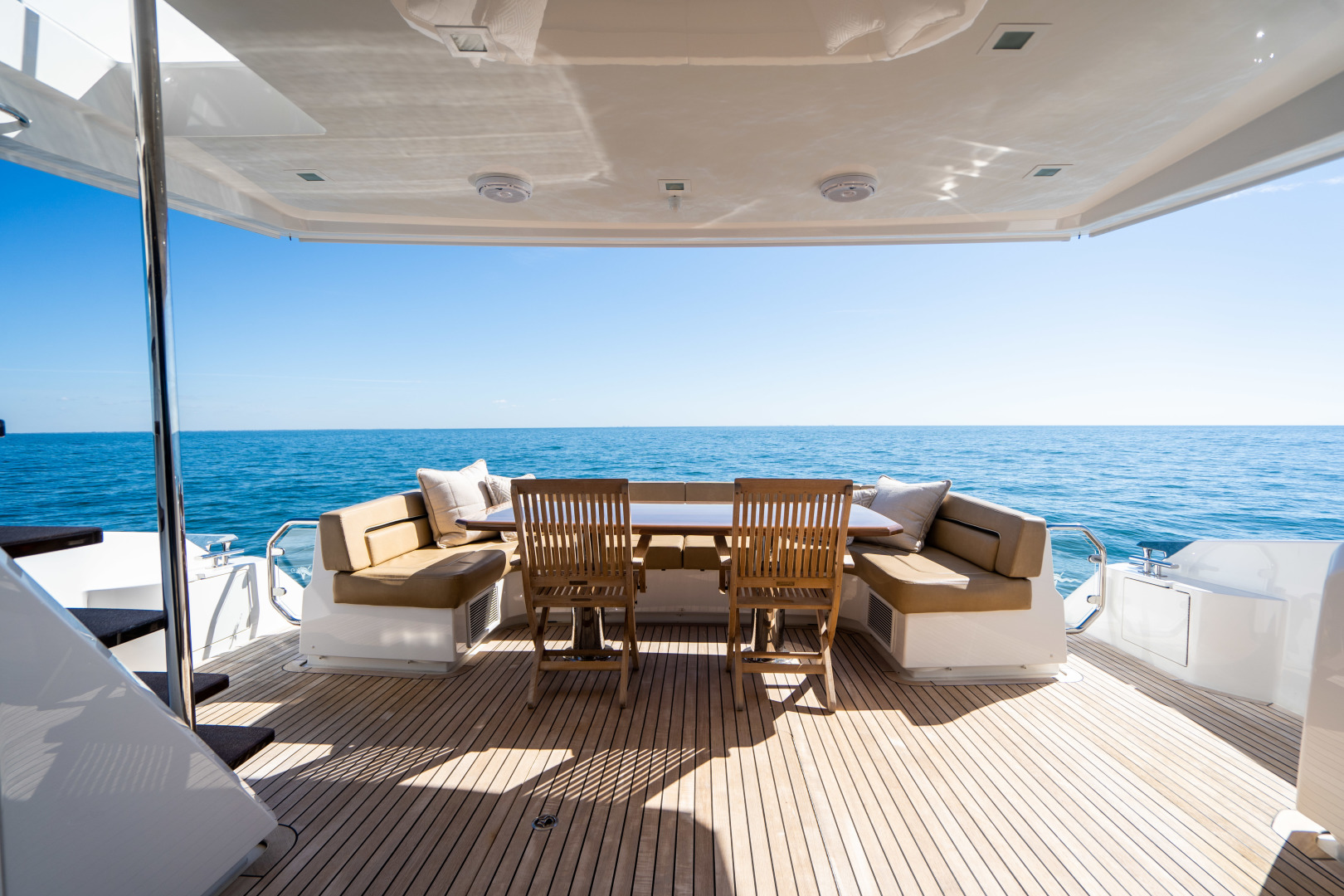 Viking-Motor Yacht 2018-LULU North Palm Beach-Florida-United States-Aft Deck-1405893 | Thumbnail