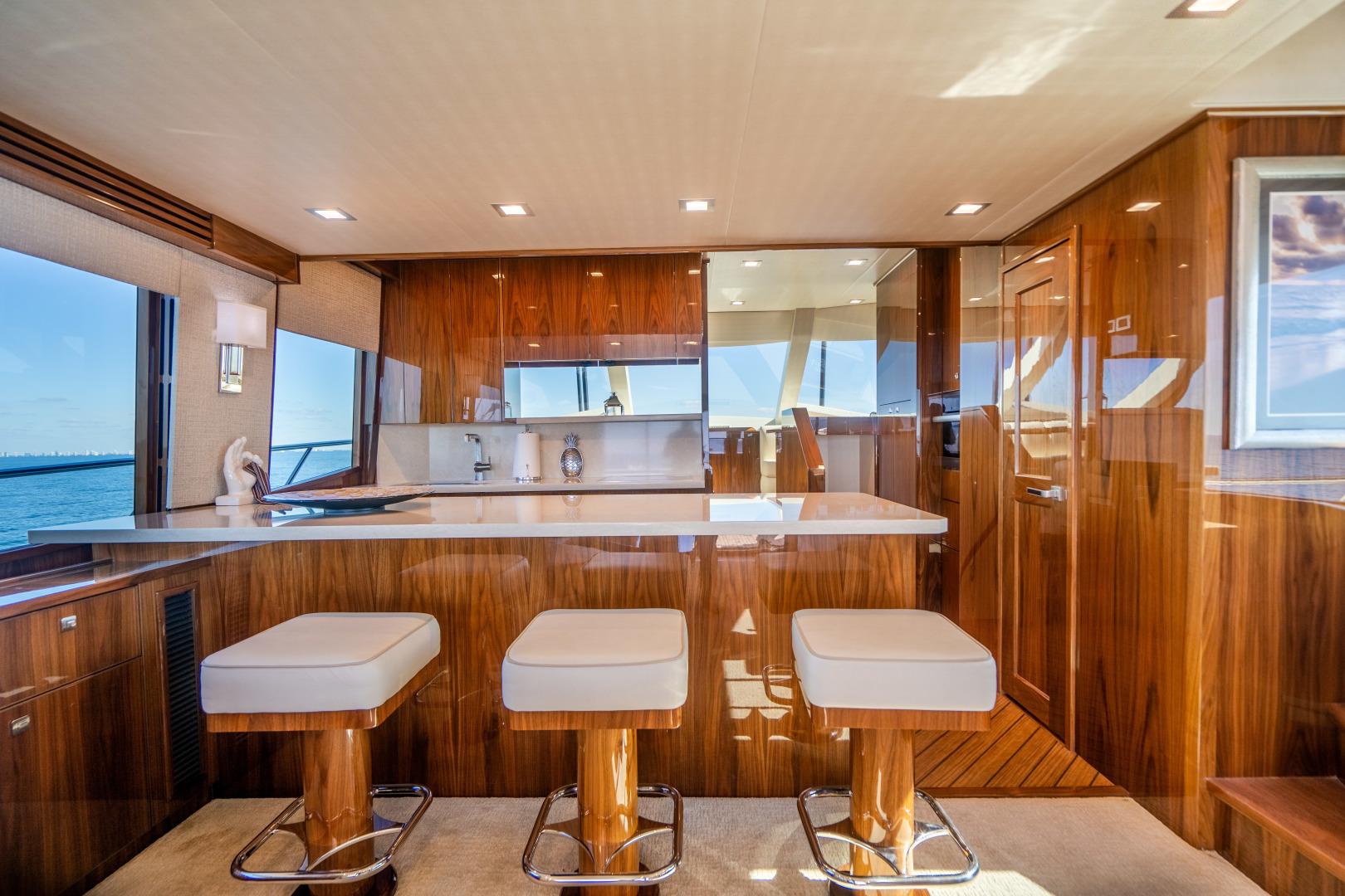 Viking-Motor Yacht 2018-LULU North Palm Beach-Florida-United States-Galley-1405698 | Thumbnail