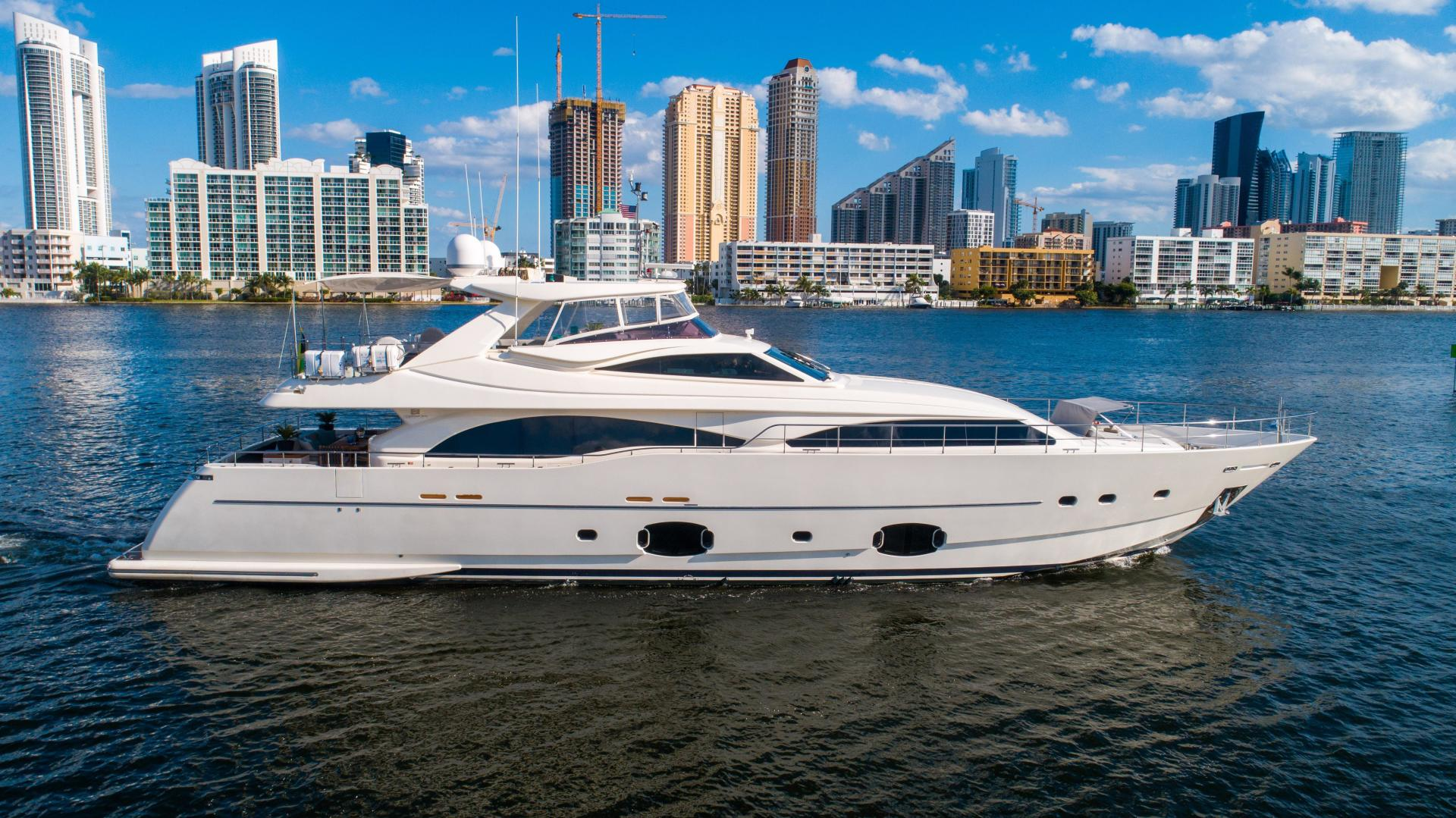 97' Ferretti Yachts 2008 Custom Line The Capital