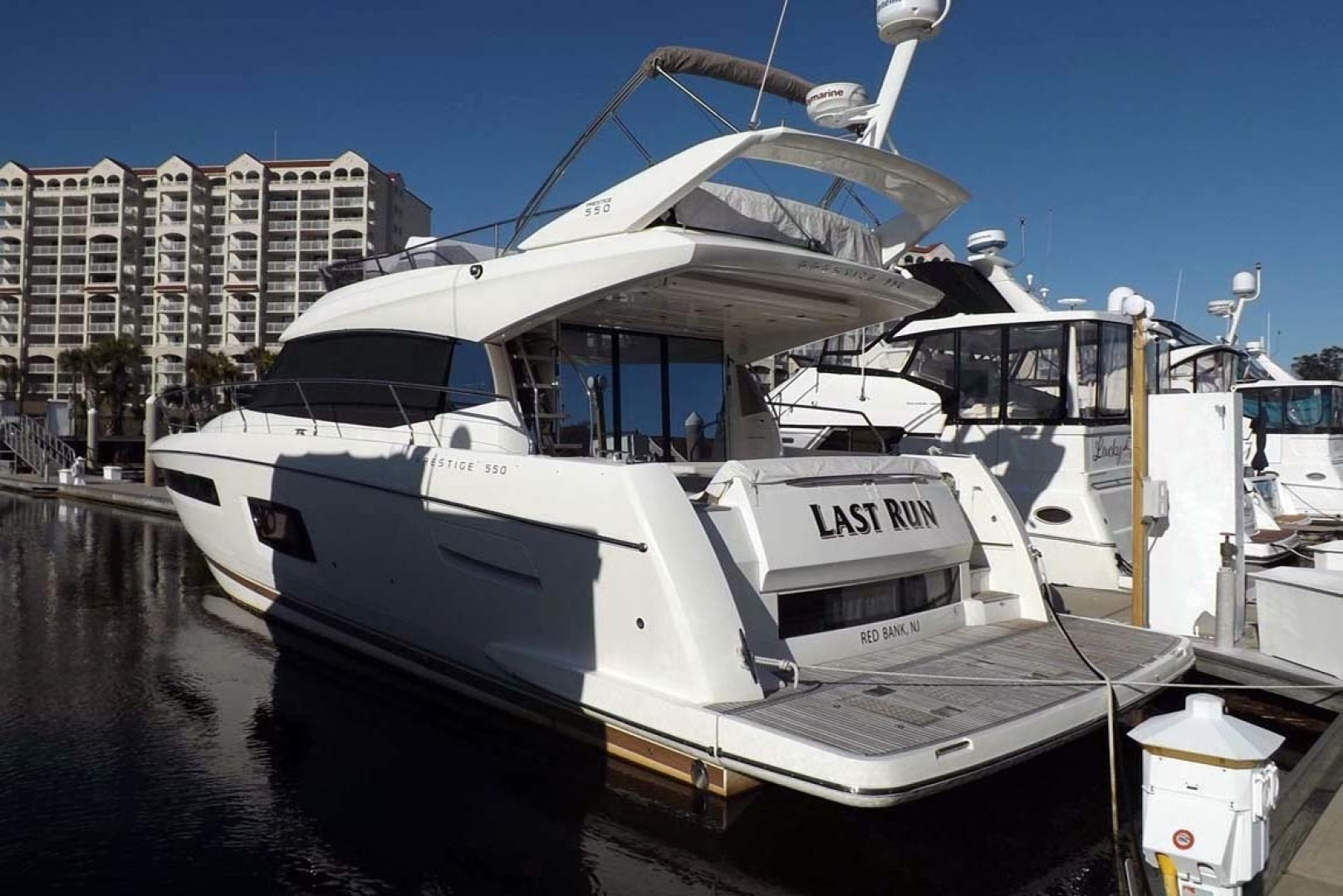 Prestige-550 2014-Last Run Mount Pleasant-South Carolina-United States-Port Aft View-1411865 | Thumbnail