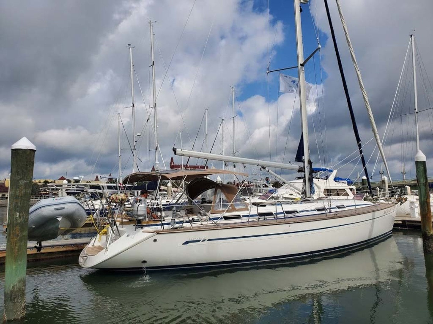 Bavaria-49 2003-BLUE CLOUD LADY Jacksonville-Florida-United States-Profile-1412433 | Thumbnail