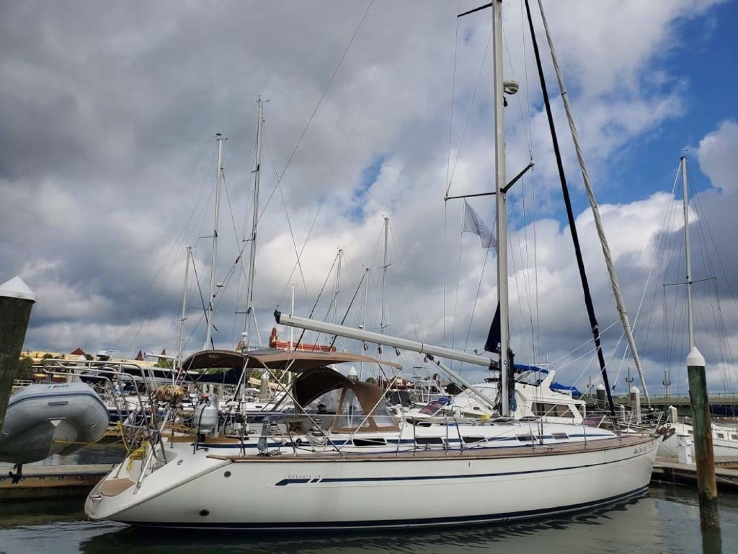 Bavaria-49 2003-BLUE CLOUD LADY Jacksonville-Florida-United States-Starboard Side View-1412460 | Thumbnail